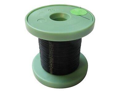 100m REEL Enamelled Copper Wire Black 0,15mm Enameled Wire on Reel