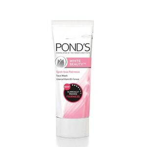 Ponds-White-Beauty-Face-Wash-Lightning-Facial-Foam-for-soft-skin-free-shipping