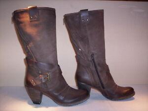 Botas-altas-a-la-rodilla-Zerodb-mujer-casual-tacones-piel-marron-n-36-37-38-39