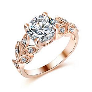 Beautiful-Wedding-Crystal-Zircon-Leaf-Ring-Women-Girl-Elegant-Romantic-Ring-HU