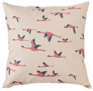 """Ikea MAJBRITT Set of 2 BRAND NEW Pillow Cushion Covers 20/"""" x 20/"""" Bird Beige #R2"""