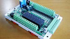 FX1S 20MR/MT 4AD2DA Module board Clock Modbus 24VDC for Mitsubishi PLC