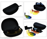 D&h Polarized Cycling Sports Glasses Bicycle Eyewear Exchangeable 5 Lens
