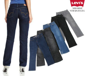 VINTAGE-LEVI-039-S-MID-RISE-STRAIGHT-LEG-JEANS-DENIM-LEVI-VARIOUS-26-in-to-40-in