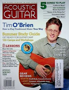 Acoustic Guitar Magazine April 2006 Tim O'Brien Traditional Music m566