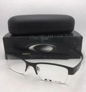 76e035ea72d64 OAKLEY Titanium Eyeglasses GASSER 0.5 OX5088-0152 52-19 Matte Black ...