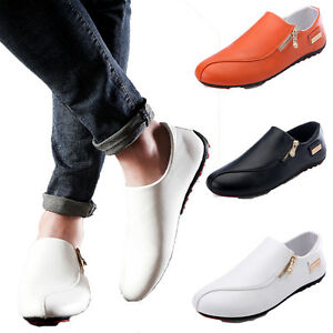 Men-Casual-Flat-Slip-on-Shoes-Loafers-PU-Leather-Moccasins-Driving-Shoes-Gift