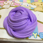 Fluffy Slime Floam ADHD Autism Adult Stress Gag Kids Toys 60ml box Purple