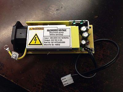 AC TO DC CONVERTER input 100-240v AC output 24v 2.5A DC