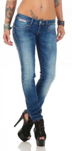 Herrlicher jeans Nuovo 634 D9666 Donna Slim Pantaloni Sigaretta Piper A rwzYfqrx