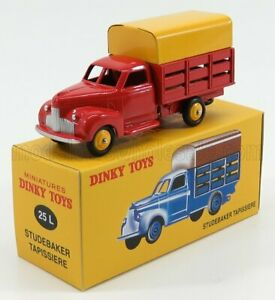 EDICOLA 1/43 STUDEBAKER   TRUCK TAPISSIERE PICK-UP CLOSED 2-ASSI 1960   RED Y...