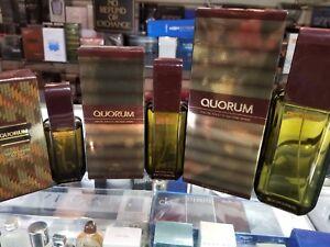 QUORUM by Antonio Puig .65 1.7 3.4 oz EDT Toilette Spray for Men Him* NEW IN BOX