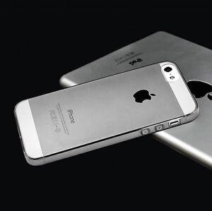 Per-Apple-Iphone-5S-Custodia-ULTRA-SLIM-COVER-SILICONE-0-3-MM-TRASPARENTE