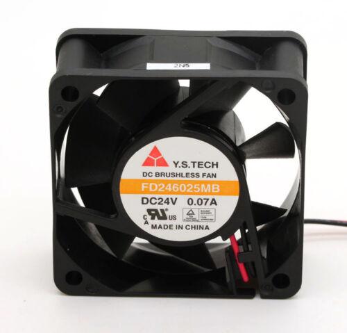 FD246025MB 6025 6CM 24V 0.07A fan for YSTECH 60*60*25mm