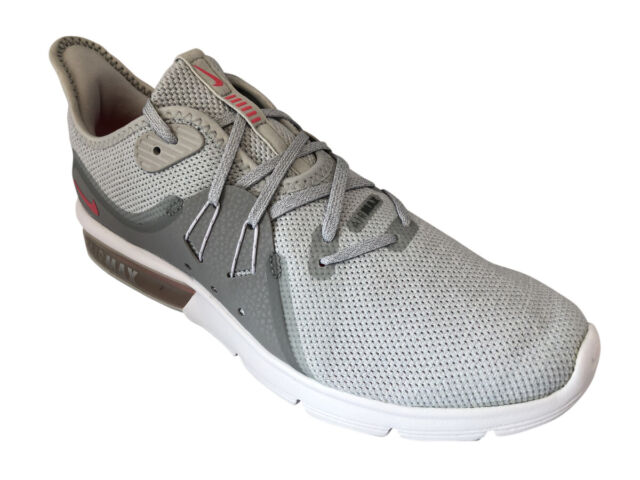 f35beda7be9 Nike Air Max Sequent 3 Womens 908993-012 Platinum Knit Running Shoes Size 9
