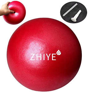 Zhiye Mini Pilates Balle Yoga Petit Ballon d/'exercice Core Fitness Bender balle yoga