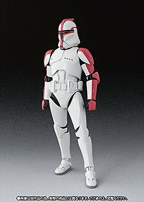 S.H.Figuarts Star Wars CLONE TROOPER PHASE 1 CAPTAIN Action Figure BANDAI NEW