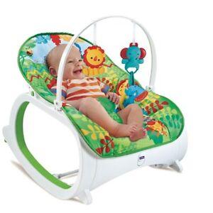 Sedia A Dondolo Per Neonati.Dondolo Per Neonati Vibrante Musicale Fitch Baby Trasformazione In