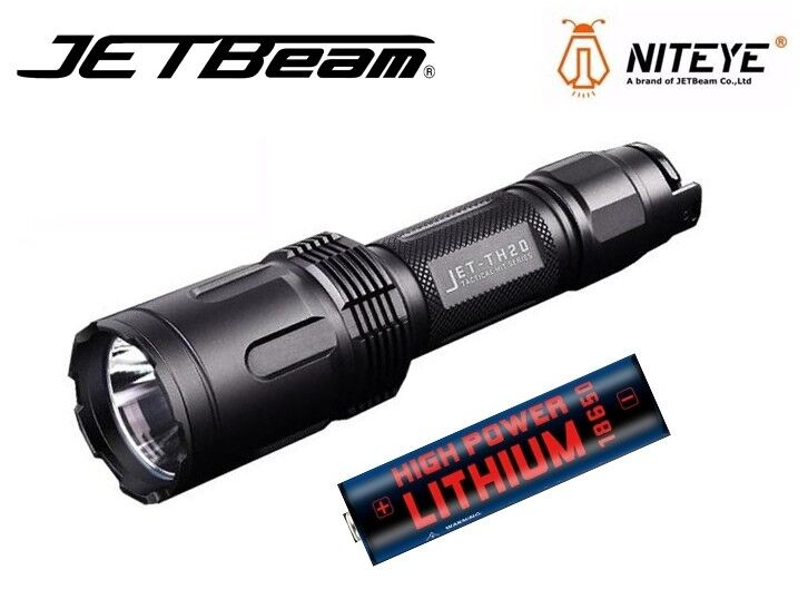 NUOVO Jetbeam TH20 Omu CREE XHP70.2 3450 LUMEN Torcia LED con Batteria