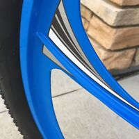 Motorized Bicycle Hurricane Wheel Decals Motor Bike Accessory Graphics