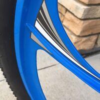 Motorized Bicycle Hurricane Wheel Decals Motor Bike Accessory Graphics