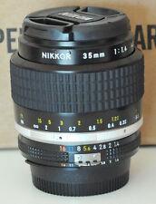 Nikon Nikkor 35mm F1.4 AI-S Lens Mint 1st