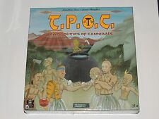 T.P.O.C. THE POLITICS OF CANNIBALS BOARD GAME *NEW!*  STRACTICAL CONCEPTS