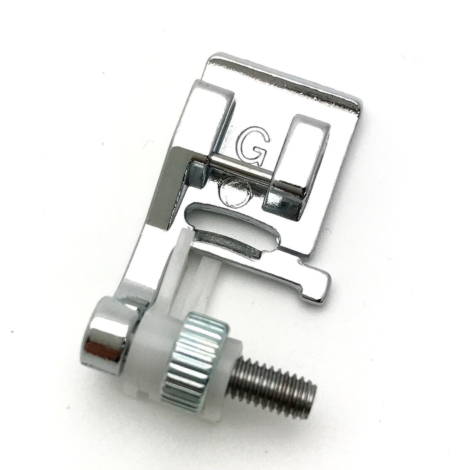Sewing Machine G Type Adjustable Blind Hem Presser Foot # 820817015