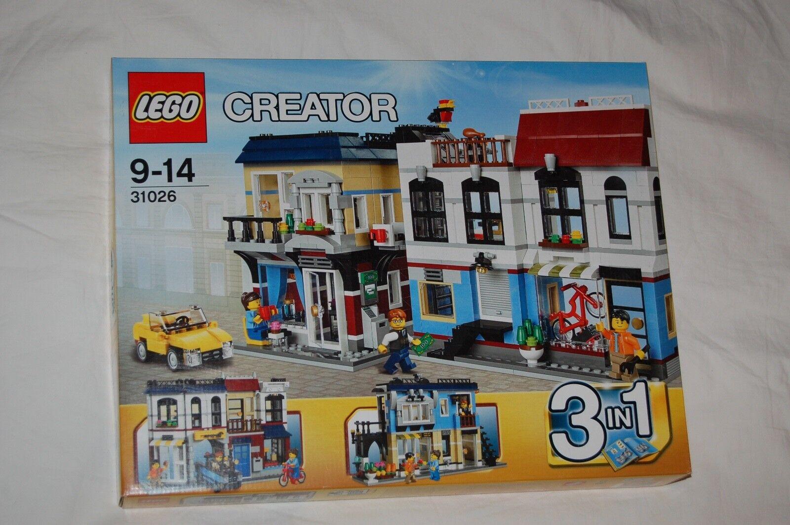 Lego Creator 31026 tienda de bicicletas & café nuevo  se adapta a 31036,31050,60150,60200