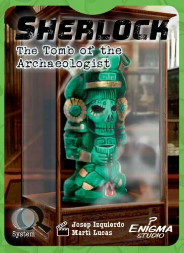 THE TOMB OF THE ARCHAEOLOGIST CARD GAME ENIGMA STUDIO SHERLOCK