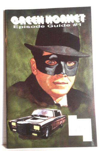 1992 Green Hornet TV Series Episode Guide Comic Book 26 EpisodesUNREAD M5420