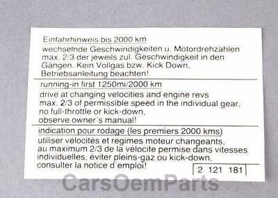 Genuine BMW E12 Rear Trunk Lid 518 Emblem Badge Logo OEM 51141869973
