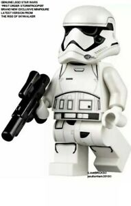 Lego STAR WARS minifigure FIRST ORDER STORMTROOPER
