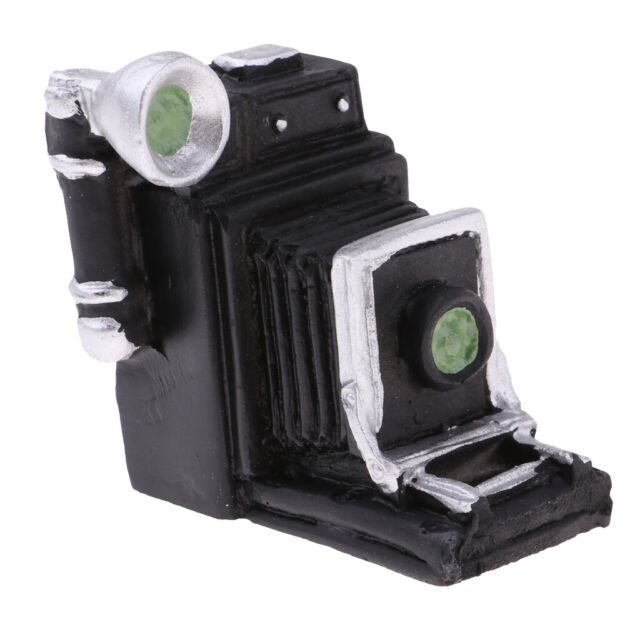 1:12Miniature doll house vintage camera diy doll house decoration accessoriesEP