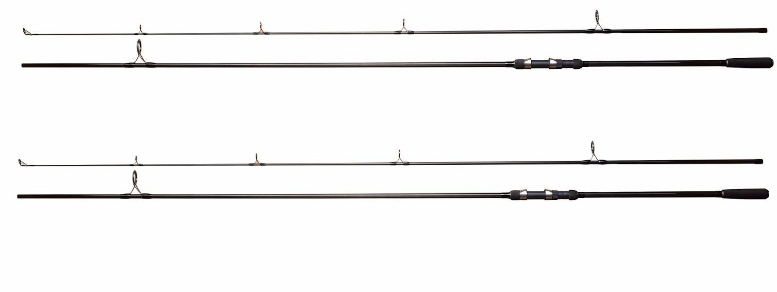 2 x  Shakespeare Cypry 2pc 12ft 3.00lb Carp Fishing Rods - 1381122