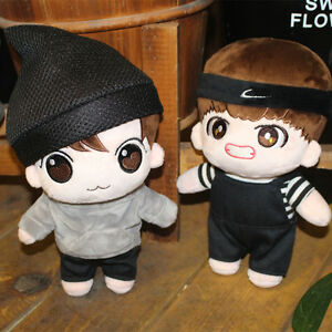 kpop BTS planet Kim Tae Hyung Jung Kook Plush Toy Stuffed Doll Fan Goods 8/""