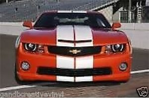 Dual Racing Stripes 10 Vinyl Decal Sticker Auto Rally Mustang Dodge