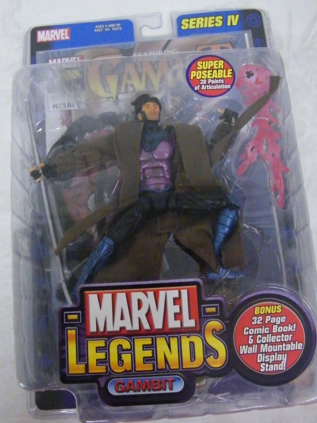 Vintage Marvel Gambit Gambit Gambit Action Figure 5c78bd