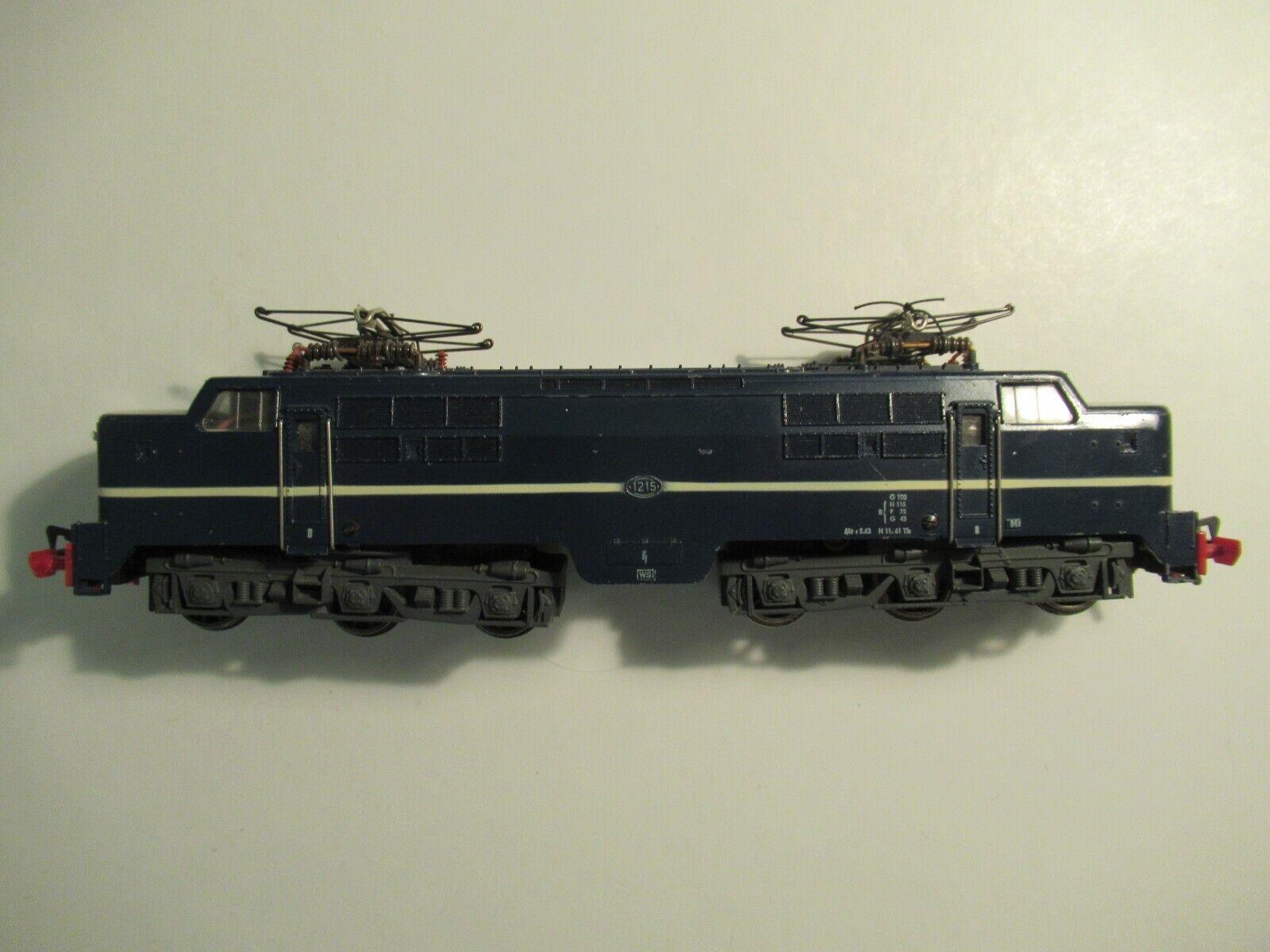 Fleischmann H0 1390 E-Lok Elektro-Lokomotive Serie 1215Niederländischen Bahnen