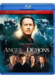 Angels-And-Demons-Tom-Hanks-Version-Cinema-amp-Long-Blu-Ray-New-Blister-Pack