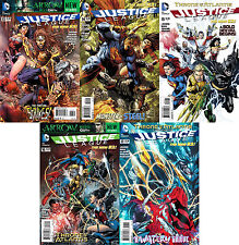 Justice League (2012-2013) 13 - 17 NEW 52