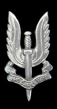 WW2 SPECIAL AIR SERVICE BADGE SOLID SILVER