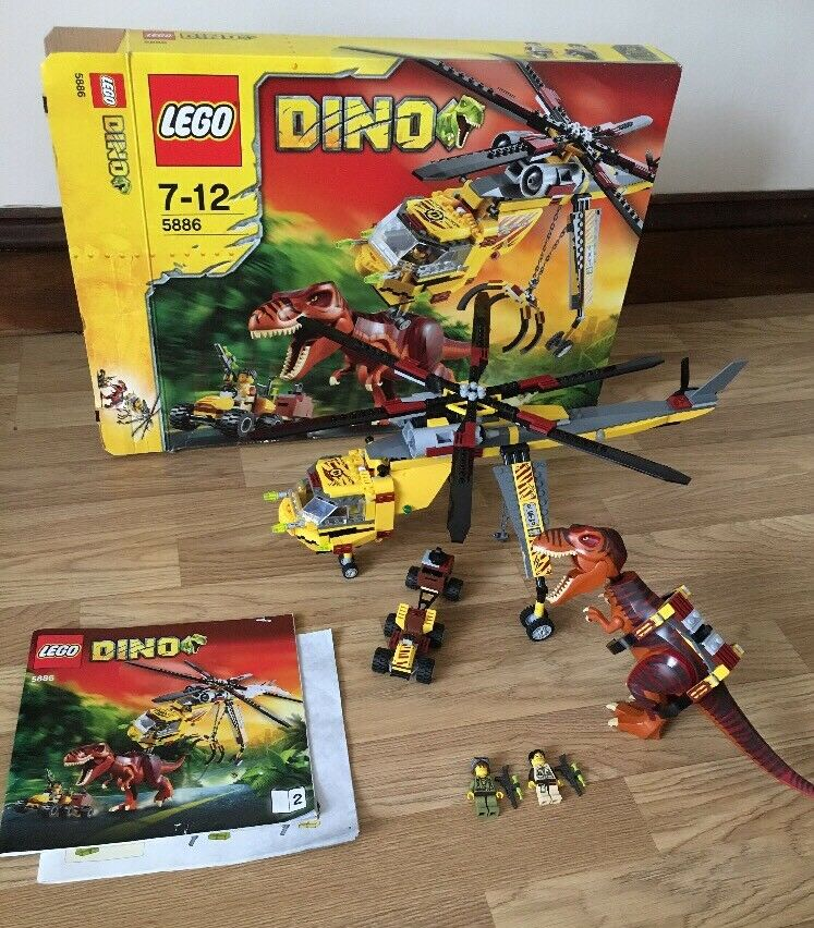LEGO Dinosaurs T-Rex Hunter Set No 5886 Complete boxed