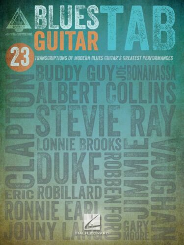 BLUES GUITAR TAB SHEET MUSIC SONG BOOK