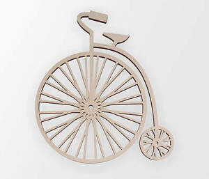 Wooden Shape Vintage Bicycle, Wooden Cut Out, Wall Art, Home Decor, Wall Hanging