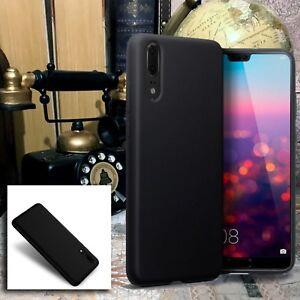 Huawei-P20-PRO-Case-Impact-Resistant-Cover-Flexible-JET-Black-Alpha