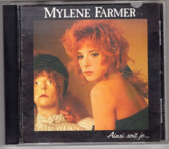CD ALBUM MYLENE FARMER AINSI SOIT JE... CD PICTURE