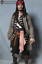 thumbnail 1 - 1:1 Life Size Jack Sparrow Statue Johnny Depp Prop Pirates Movie Display Style-2
