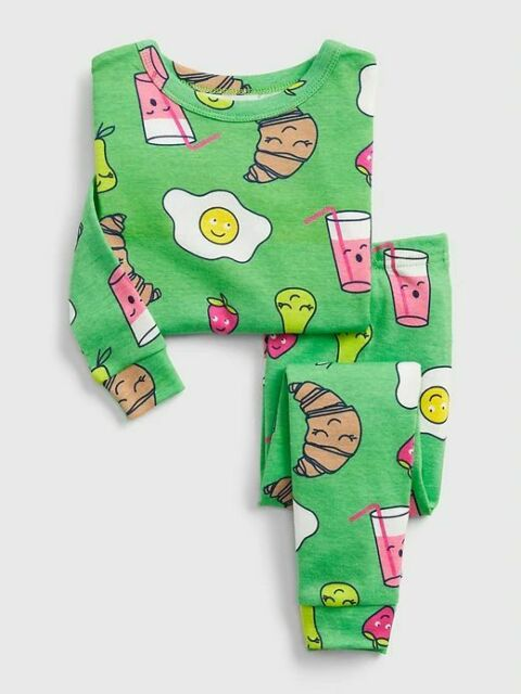 2pc Baby Toddler Girls Short Pajama Set Bunny