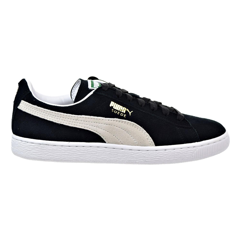 Puma Suede Classic Men's Sneakers Black-White 352634-03